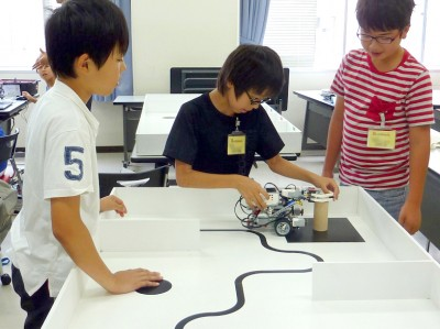 平成29年度 ITロボットこうざ第7回の様子01