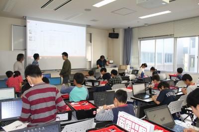 平成30年度ITロボット講座の第5回の様子01