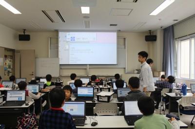 平成30年度ITロボット講座の第6回の様子01