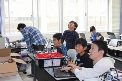 平成30年度ITロボット講座の第6回の様子02